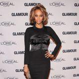 Tyra Banks en los Premios Glamour Mujeres del Año 2012