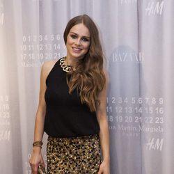 Carla Nieto en la fiesta de Maison Martin Margiela y H&M