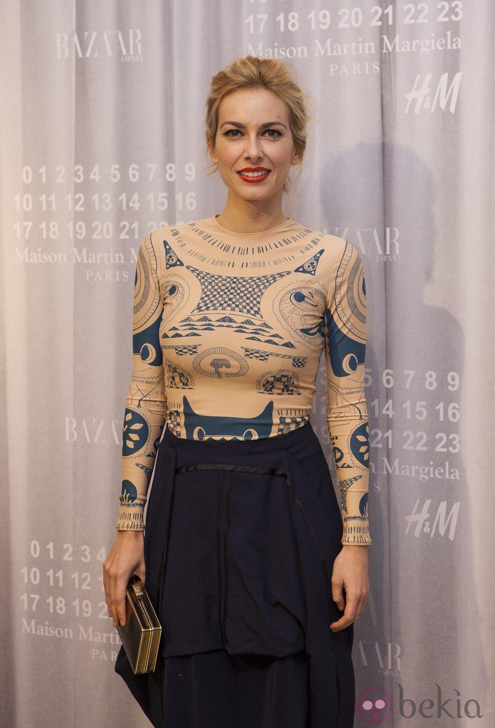 Kira Miró en la fiesta de Maison Martin Margiela y H&M