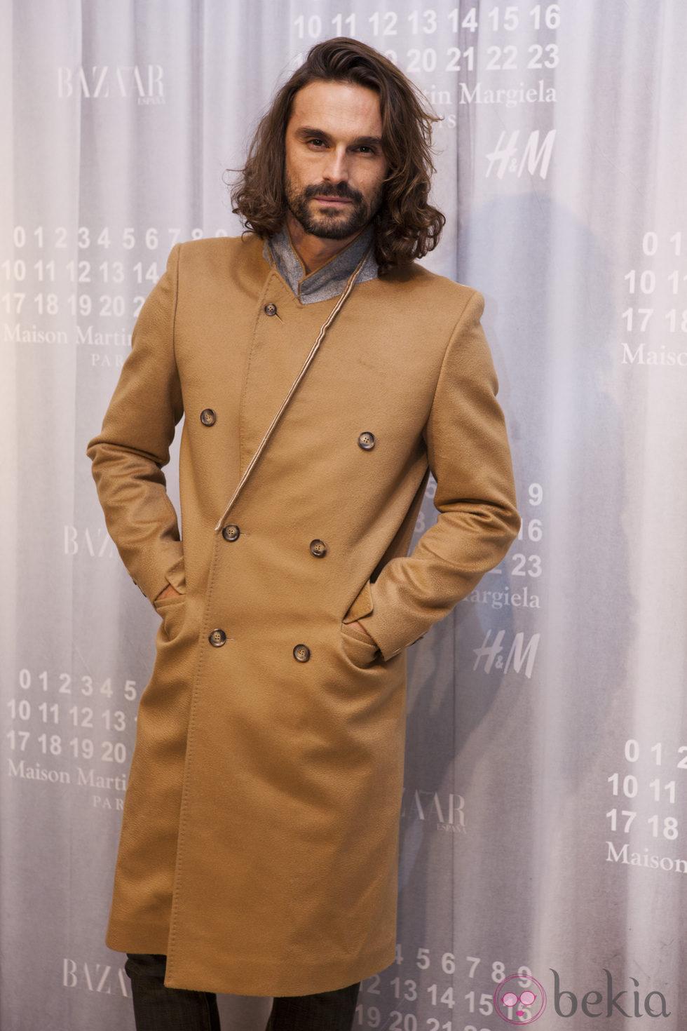 Iván Sánchez en la fiesta de Maison Martin Margiela y H&M