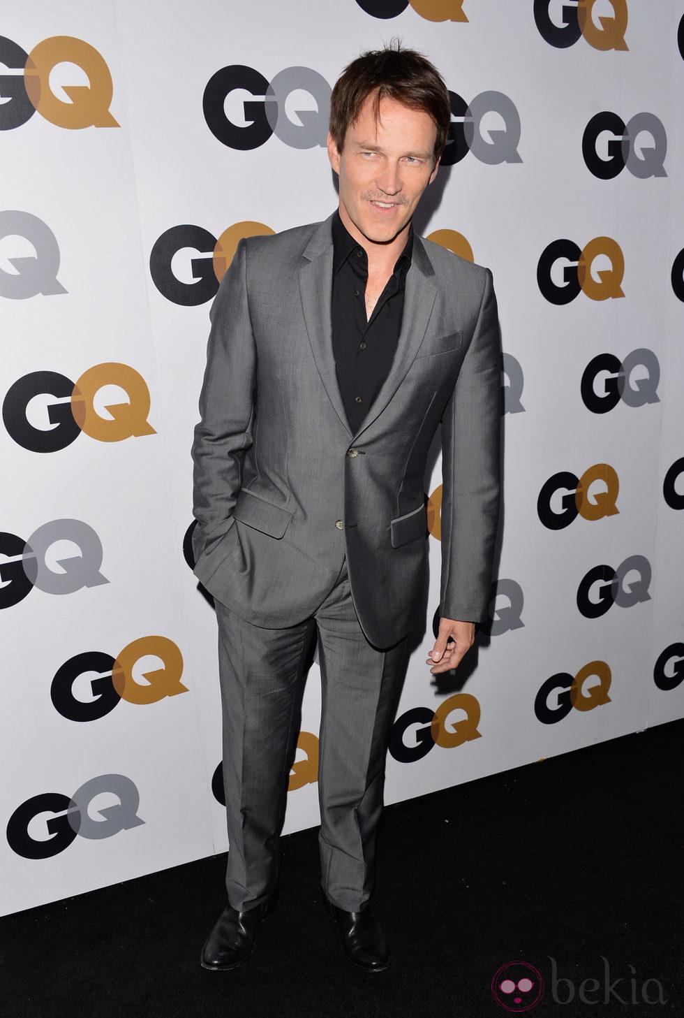 Stephen Moyer en la fiesta GQ Hombres del Año en Los Angeles