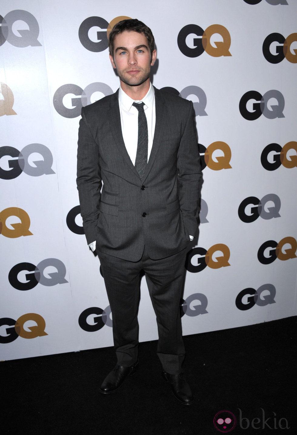 Chace Crawford en la fiesta GQ Hombres del Año en Los Angeles