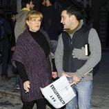 María Garralón se manifiestan con motivo de la Huelga General del 14N