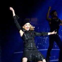 Madonna y Psy cantando 'Gangnam Style' en Nueva York