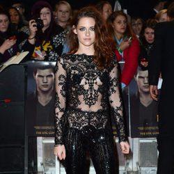 Kristen Stewart en el estreno de 'Amanecer. Parte 2' en Londres