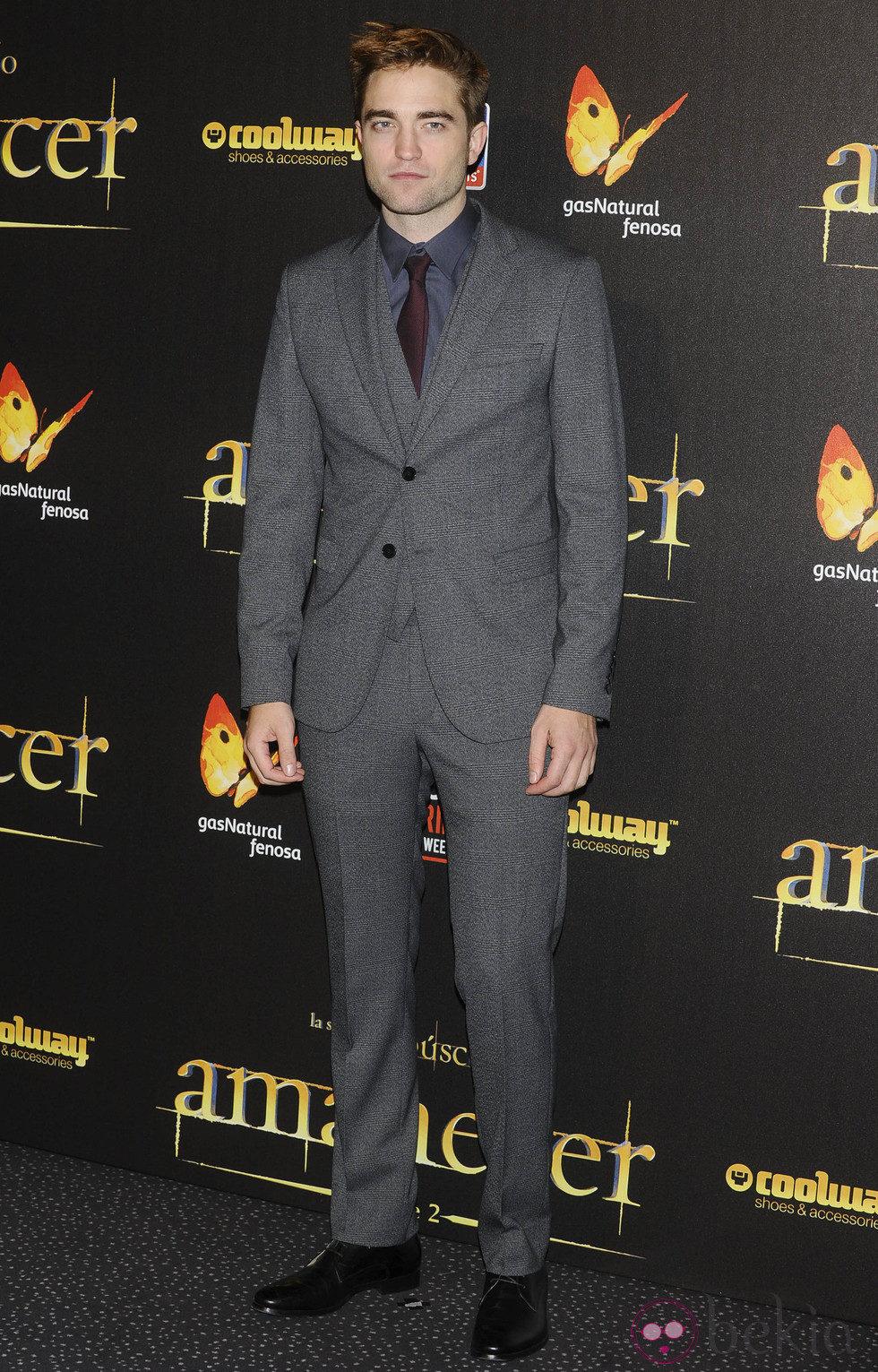 Robert Pattinson en el estreno de 'Amanecer. Parte 2' en Madrid