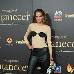 Marina Jamieson en el estreno de 'Amanecer. Parte 2' en Madrid