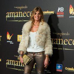 Arancha de Benito en el estreno de 'Amanecer. Parte 2' en Madrid