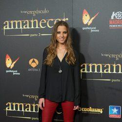 Ana Fernández en el estreno de 'Amanecer. Parte 2' en Madrid