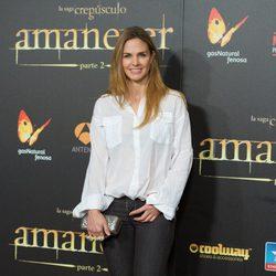 Genoveva Casanova en el estreno de 'Amanecer. Parte 2' en Madrid