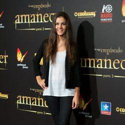 Sandra Blázquez en el estreno de 'Amanecer. Parte 2' en Madrid