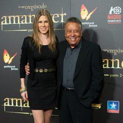 Tamara y Moncho en el estreno de 'Amanecer. Parte 2' en Madrid