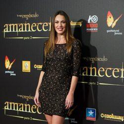 Priscila de Gustin en el estreno de 'Amanecer. Parte 2' en Madrid
