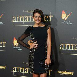 Noelia López en el estreno de 'Amanecer. Parte 2' en Madrid