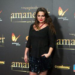 Marisa Jara en el estreno de 'Amanecer. Parte 2' en Madrid