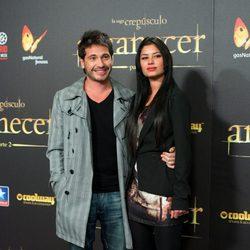 David de María en el estreno de 'Amanecer. Parte 2' en Madrid