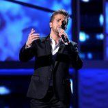Pablo Alborán actuando en los Grammy Latinos 2012