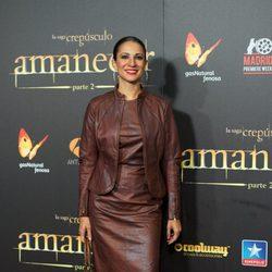 Silvia Jato en el estreno de 'Amanecer. Parte 2' en Madrid
