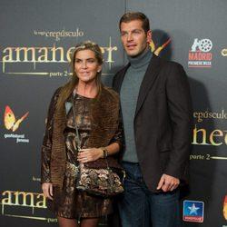 Darek y Susana Uribarri en el estreno de 'Amanecer. Parte 2' en Madrid