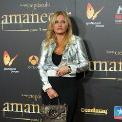 Cristina Tárrega en el estreno de 'Amanecer. Parte 2' en Madrid