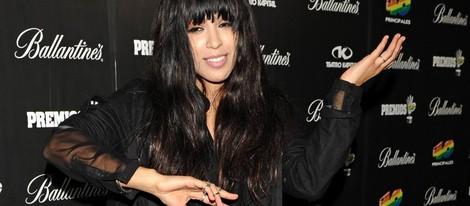 Loreen en la fiesta de nominados de los Premios 40 Principales 2012