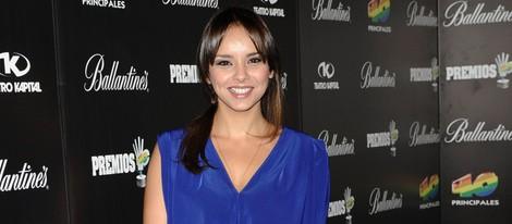 Chenoa en la fiesta de nominados de los Premios 40 Principales 2012
