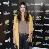 Lorena Castell en la fiesta de nominados de los Premios 40 Principales 2012