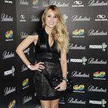 Berta Collado en la fiesta de nominados de los Premios 40 Principales 2012