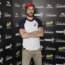 Macaco en la fiesta de nominados de los Premios 40 Principales 2012