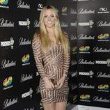Edurne en la fiesta de nominados de los Premios 40 Principales 2012