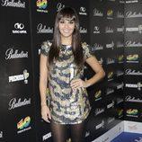 Cristina Pedroche en la fiesta de nominados de los Premios 40 Principales 2012