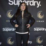 Paula Prendes en la inauguración de la tienda 'Internacional Superdry' en Madrid