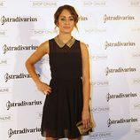 Hiba Abouk en la inauguración de la tienda de Stradivarius en Madrid