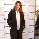 Ana García Siñeriz en la inauguración de la tienda de Stradivarius en Madrid