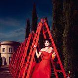 Penélope Cruz en el mes de diciembre del Calendario Campari 2013