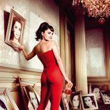 Penélope Cruz en el mes de octubre del Calendario Campari 2013