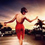 Penélope Cruz en el mes de septiembre del Calendario Campari 2013