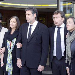 La familia de Miliki le despide en Madrid