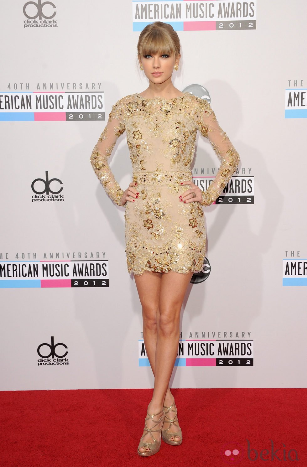 Taylor Swift en los American Music Awards 2012