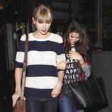 Taylor Swift y Selena Gomez salen a cenar juntas