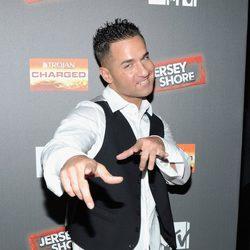 Mike 'The Situation' en la premiere de 'Jersey Shore'