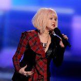 Cindy Lauper en la ceremonia de los premios American Music Awards 2012