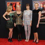 Scarlett Johansson, Helen Mirren, Jessica Biel y Toni Collette en el estreno de 'Hitchcock' en Nueva York