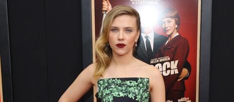 Scarlett Johansson en el estreno de 'Hitchcock' en Nueva York