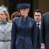 La Princesa Charlene de Mónaco en el Día Nacional de Mónaco 2012