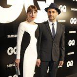 Leonor Watling y Jorge Drexler en los Premios GQ Hombres del Año 2012