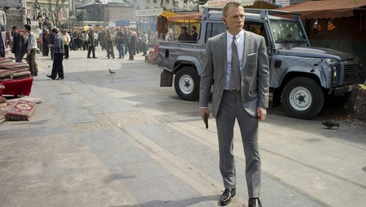 Daniel Craig como James Bond en la película 'Skyfall'