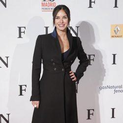 Paula Prendes en el estreno de 'Fin' en Madrid