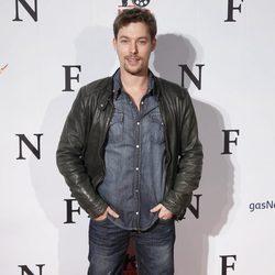 Jan Cornet en el estreno de 'Fin' en Madrid
