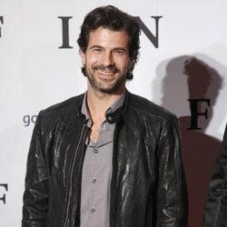 Rodolfo Sancho en el estreno de 'Fin' en Madrid